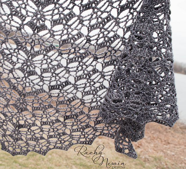 From the Ashes Shawl