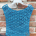 Deep Sea Top for Girls pattern