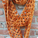 Tiger Lily Scarf pattern