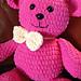 Blanket the Teddy Bear pattern
