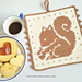 Squirrel Potholder pattern
