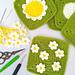 Daisy Field Granny Square pattern