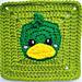 Duck Granny Square pattern