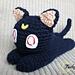 Luna Sailor Moon cat pattern