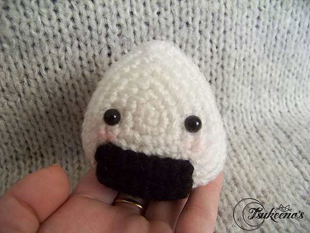 Ravelry: onigiri rice ball amigurumi pattern by mohu | 480x640