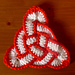 Triquetra Knot Coaster pattern