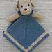 Mini Puppy Lovey Blankie pattern