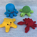 Little Sea Creatures pattern