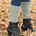 Parthenocissus Leg Warmers pattern