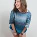 Ocean Meets Sky Sweater pattern