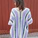 Wisteria Drops Kimono pattern