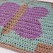 Butterfly Wings Preemie Blanket pattern