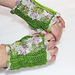 Floral Kiss Mitts pattern