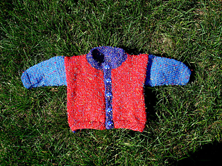 Lisa Knits baby sweater