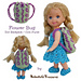 Flower Bug Doll Backpack or Coin Purse pattern