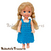 Simply Bluetiful Child Fashion Doll Dress pattern