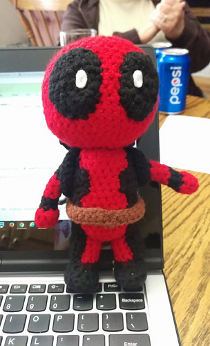 Deadpool | Love To Be In Stitches | 500x304