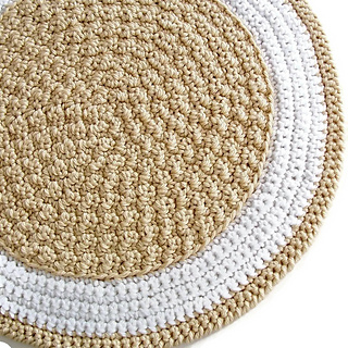Ravelry Round Crochet Rug A Quick To