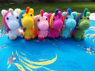 Crochet is Magic: 10 Free Crochet Unicorn Patterns! - moogly | 240x320