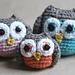 Owl Family Amigurumi pattern