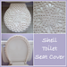 Shell Toilet Seat Cover pattern