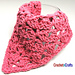 Offset Shell Dishcloth pattern