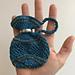 Silk Beaded Pence Jug pattern