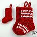 Little Christmas Stockings pattern