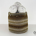 The Small Project Yarn Basket pattern