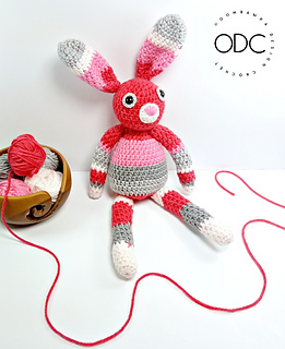Our Little Bunny - A Free Crochet Toy Pattern from Oombawka Design.