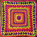 Reverie Afghan Square pattern
