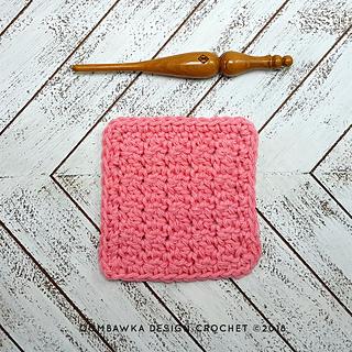 Up and Down Dishcloth - Free Dishcloth Pattern - Oombawka Design Crochet