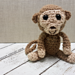 Baby Crochet Monkey. Free Amigurumi Pattern. Oombawka Design Crochet. #CALCentral