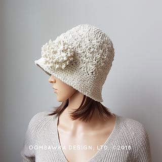 Soft Cotton Sunhat Pattern. Free Summer Chemo Cap Pattern. Oombawka Design Crochet.