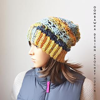 Cozy Hugs Hat Pattern. Free Pattern from Oombawka Design Crochet.