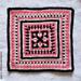 Madison Afghan Square pattern