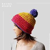 Rachel Beanie. Free Crochet Pattern from Rhondda Mol @oombawkadesigncrochet