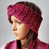 Karen's Winter Headband Pattern. Oombawka Design Crochet.