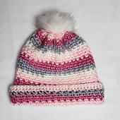 Maggie's Hat Pattern. Oombawka Design Crochet #scarfhatofthemonthclub2020 CAL January.