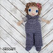 Amigurumi Sally Doll Crochet Pattern. Rhondda Mol. Oombawka Design Crochet.