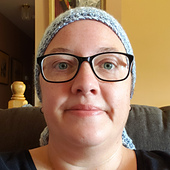 Windy Day Head Scarf. Design by Rhondda Mol. Oombawka Design Crochet. #scarfhatofthemonthclub2020