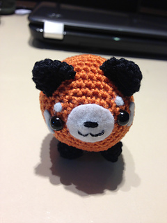 Rusty the Red Panda amigurumi pattern - Amigurumipatterns.net | 320x240