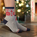 Christmas Spirit Socks pattern