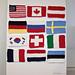 12 Flag Winter Olympics Coaster Set pattern