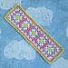 Classic Granny Bookmark pattern