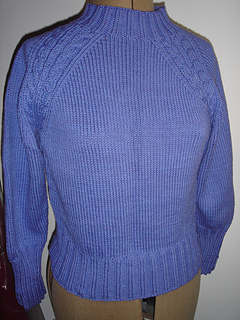 Cotton Cable Sweater-front