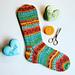 Magic Loop Socks Light pattern