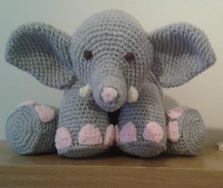 Ravelry: Bailey the Elephant amigurumi pattern by Hooked on Ewe ... | 270x320