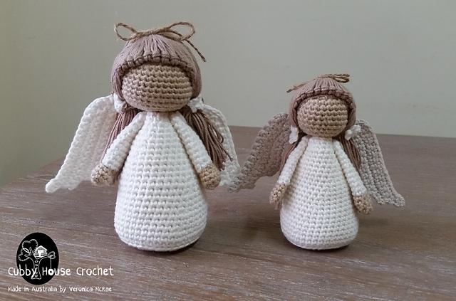 Crochet Amigurumi Doll Angel - Free Patterns #freecrochetpatterns ... | 423x640