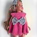 Bowtiful dolls dress pattern